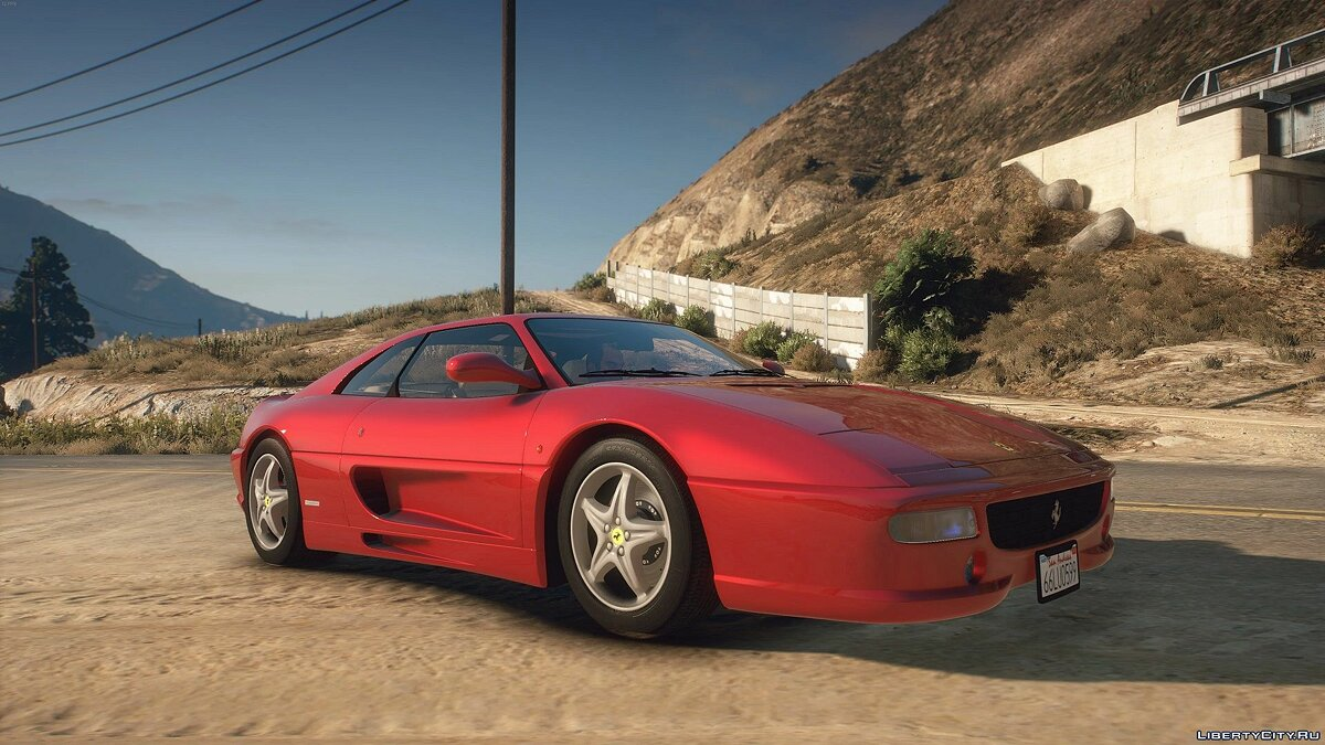 Ferrari car 1998 Ferrari F355 F1 Berlinetta 1.1 for GTA 5