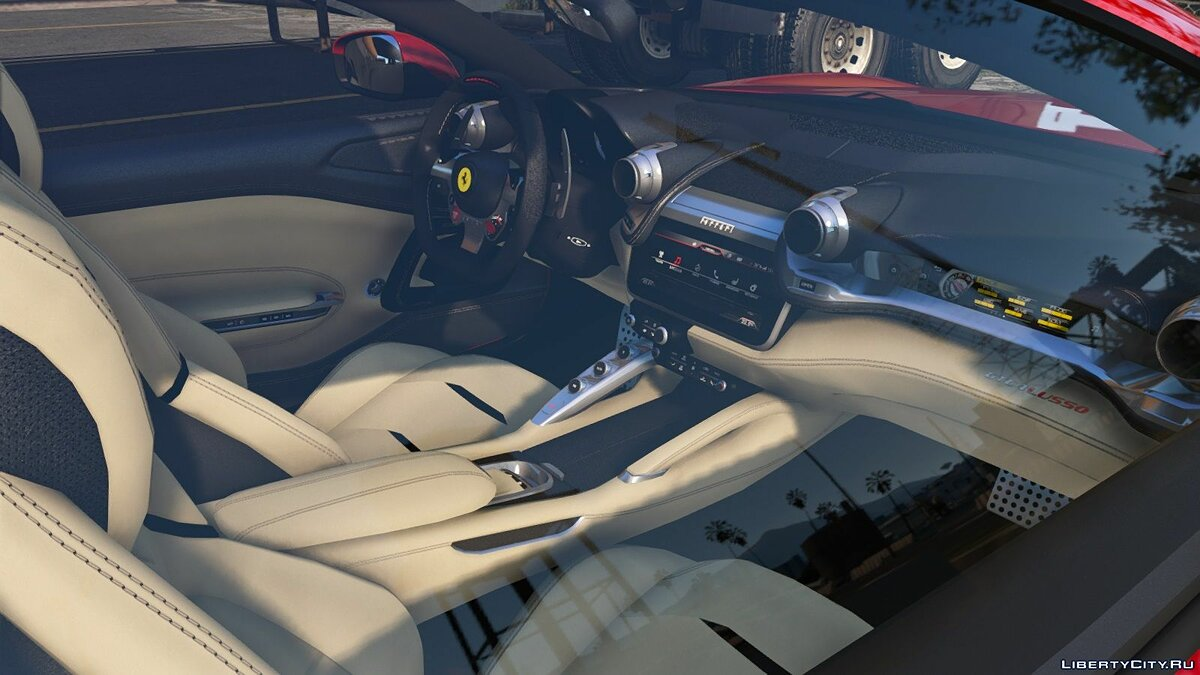 Ferrari car 2017 Ferrari GTC4 Lusso [Add-On] 1.0 for GTA 5