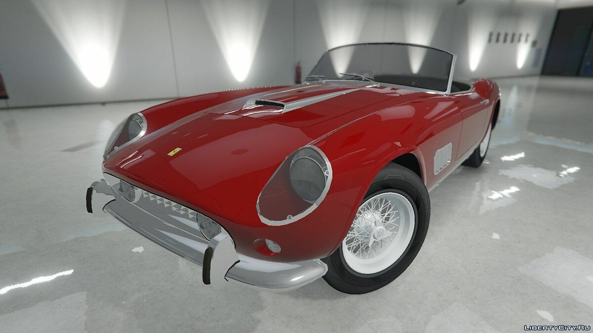 Ferrari car 1957 Ferrari 250 California for GTA 5