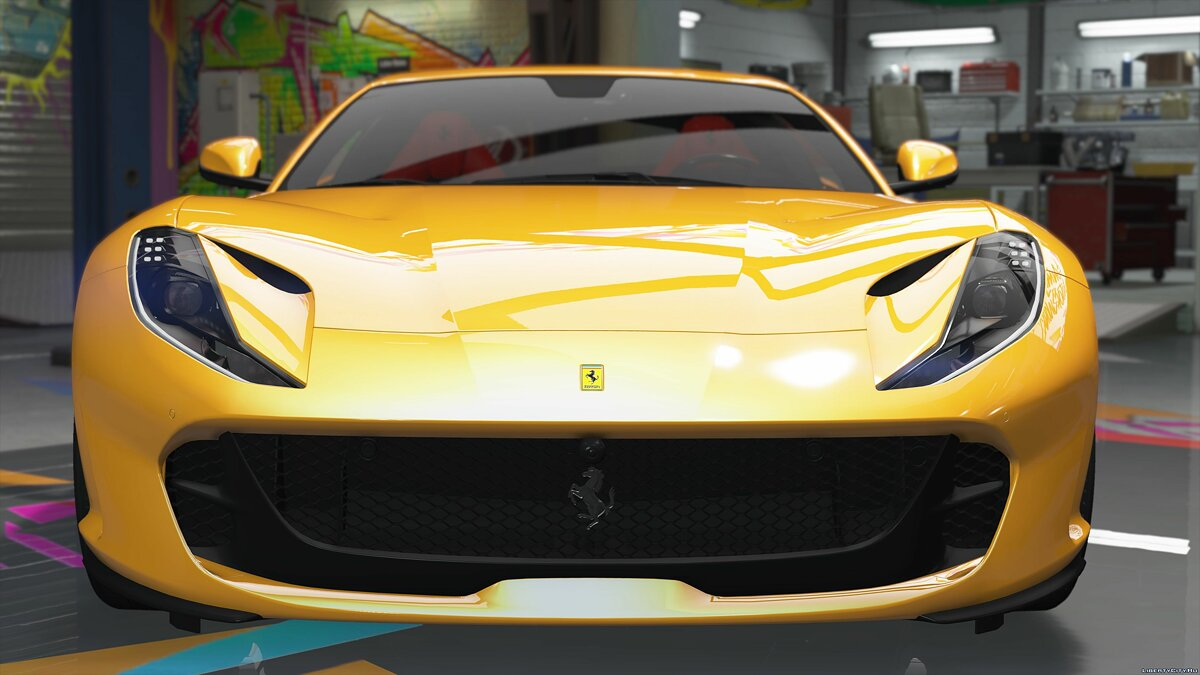 2018 Ferrari 812 Superfast [Livery | Add-on | Replace] 2.7 for GTA 5