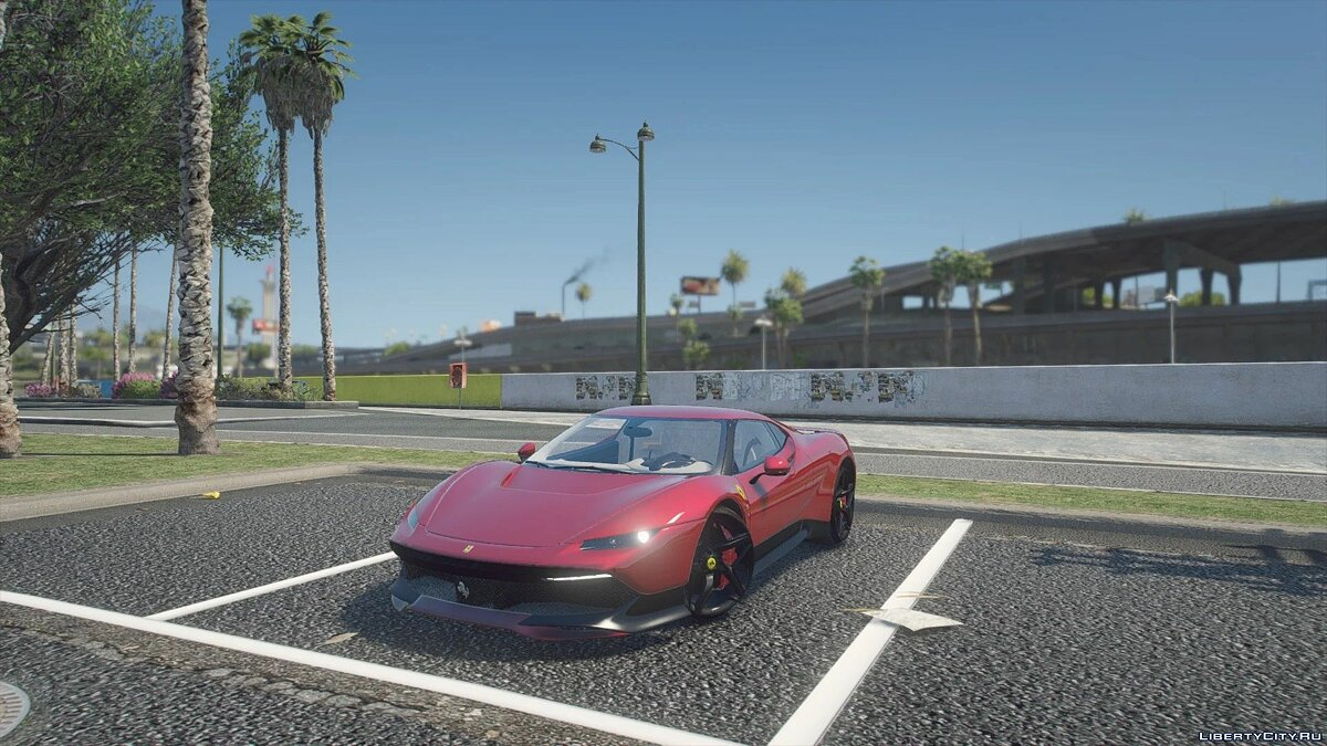 Ferrari car Ferrari SP38 2018 [addon] 1.0 for GTA 5