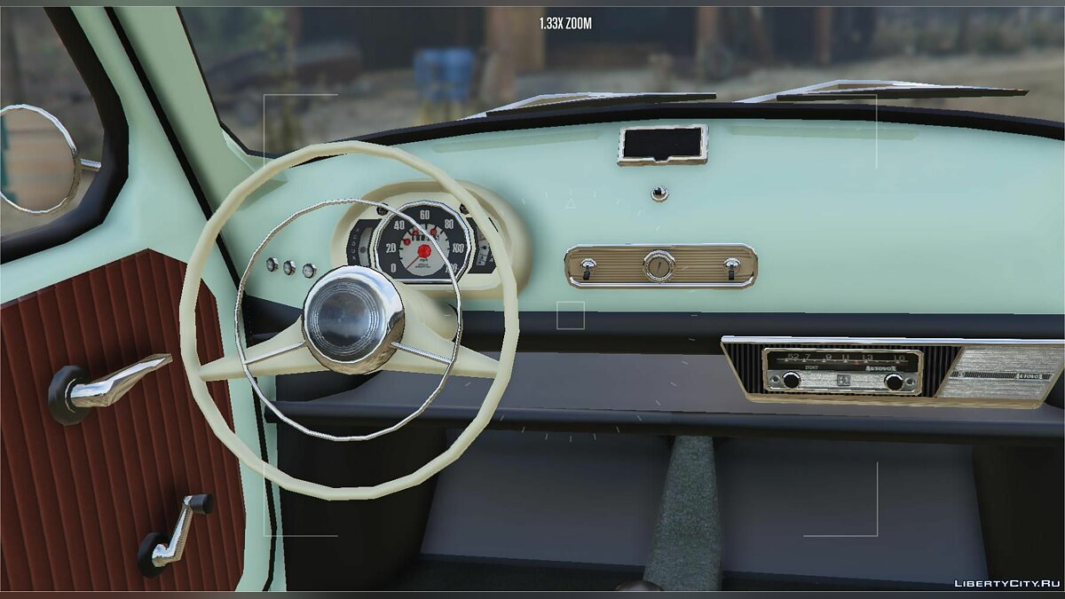 Fiat car Fiat 600 | Seat 600 | Zastava 750 [Add-On] Suicide doors + Tuning parts 1.0 for GTA 5