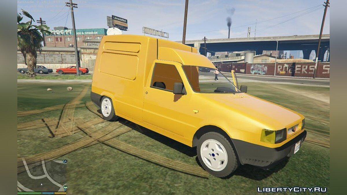 Fiat car Fiat Fiorino 1996 2.0 for GTA 5