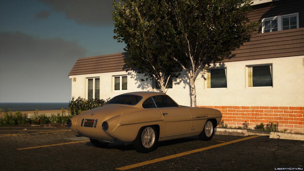 Fiat car 1953 Fiat 8V Supersonic [Add-On | LODs] 1.0a for GTA 5