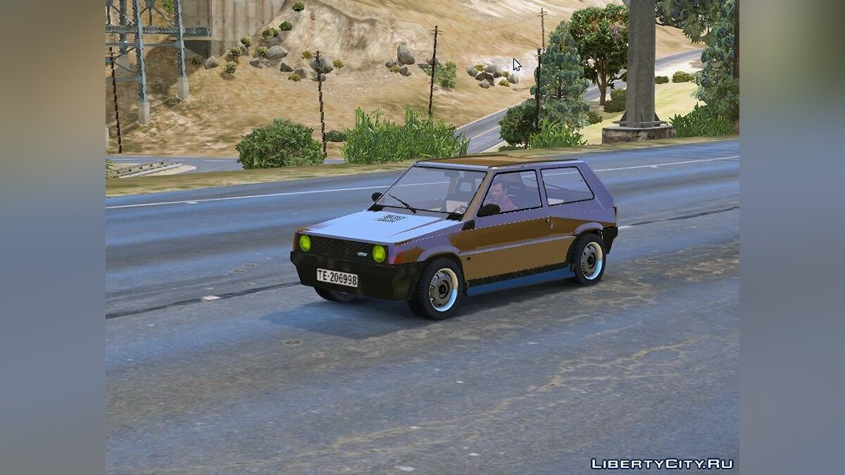 Fiat car Fiat Panda Supernova 1 for GTA 5