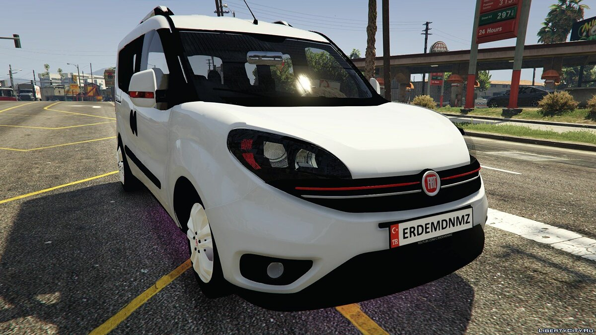 Fiat car Fiat Doblo 2017 Beta for GTA 5