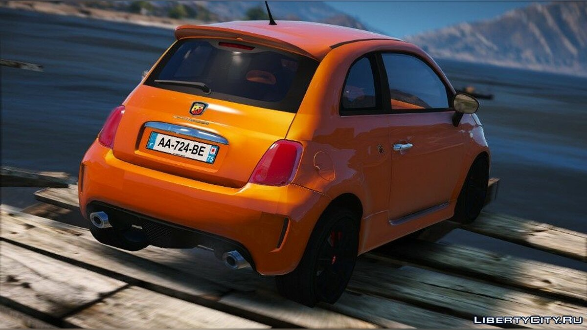 Fiat car Abarth 500 EsseEsse (Add-on / Unlock) 1.0 for GTA 5