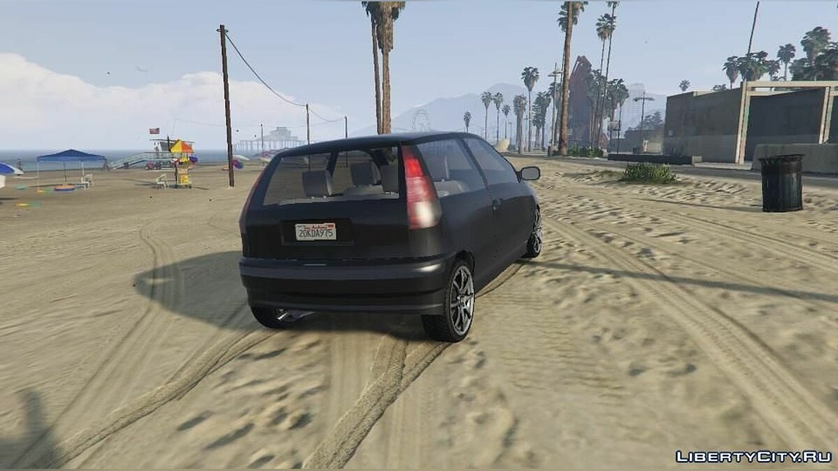 Fiat car Punto MK1 1.0 for GTA 5
