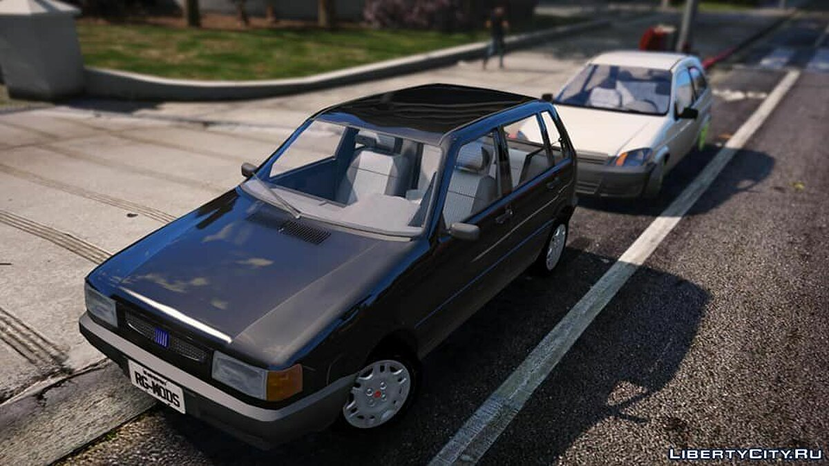 Fiat car Fiat uno smart for GTA 5