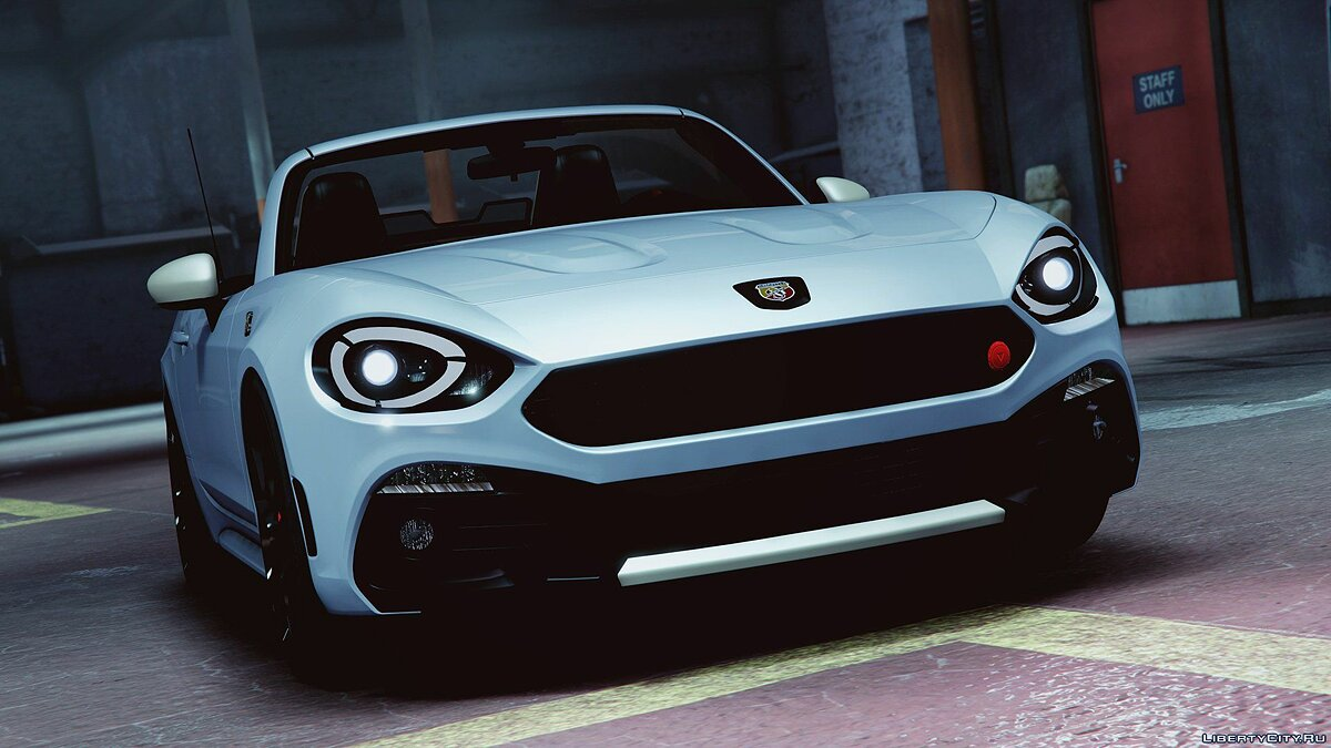Fiat car 2017 Fiat 124 Spider Abarth for GTA 5
