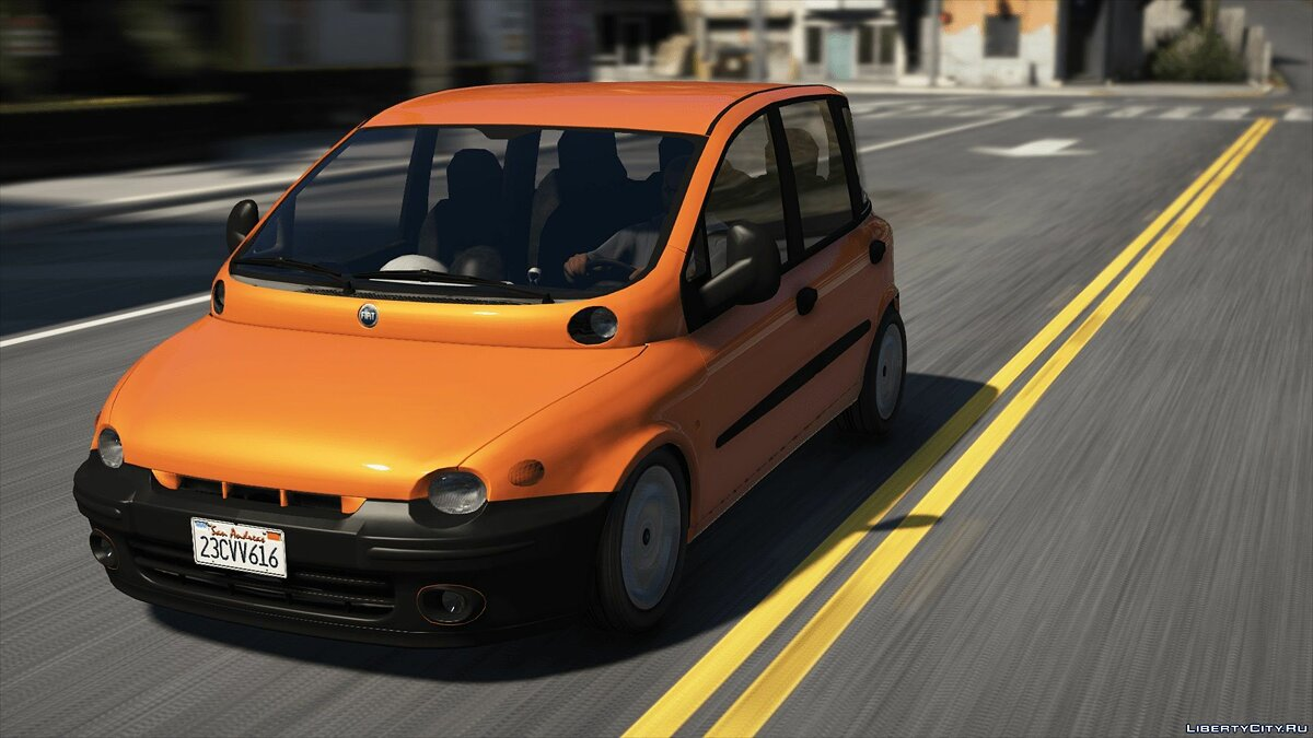 Fiat car Fiat Multipla (Unlock) 1.0 for GTA 5