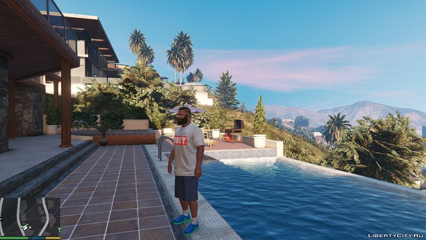 ... Nike Air Force & Flyknit for Franklin for GTA 5 - screenshot #4