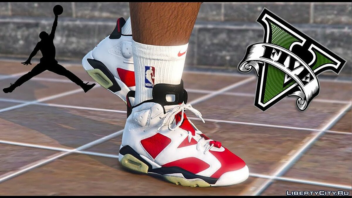 Boots Air Jordan 6 v1.1 for GTA 5