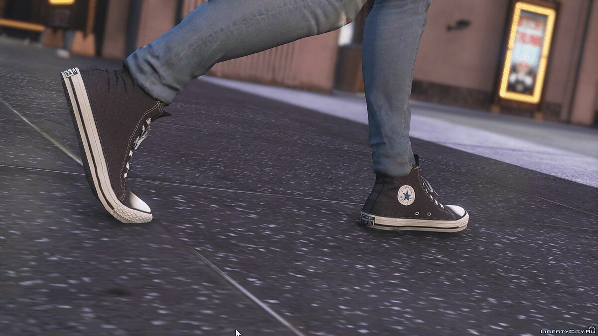 Boots Converse Chuck Taylor Classic for Franklin 1.4 for GTA 5