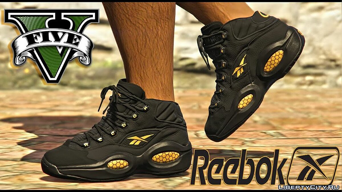 Boots Reebok The Question v1.0 for GTA 5