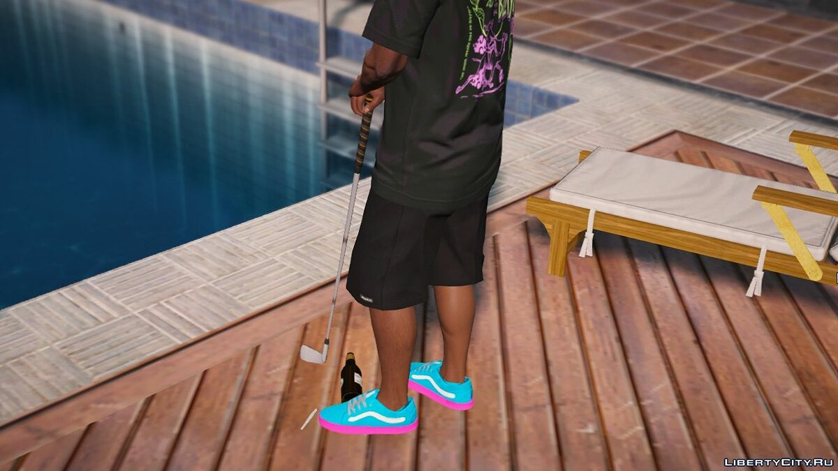 Boots Vans Syndicate Old Skool Pro 'Golf Wang' for GTA 5