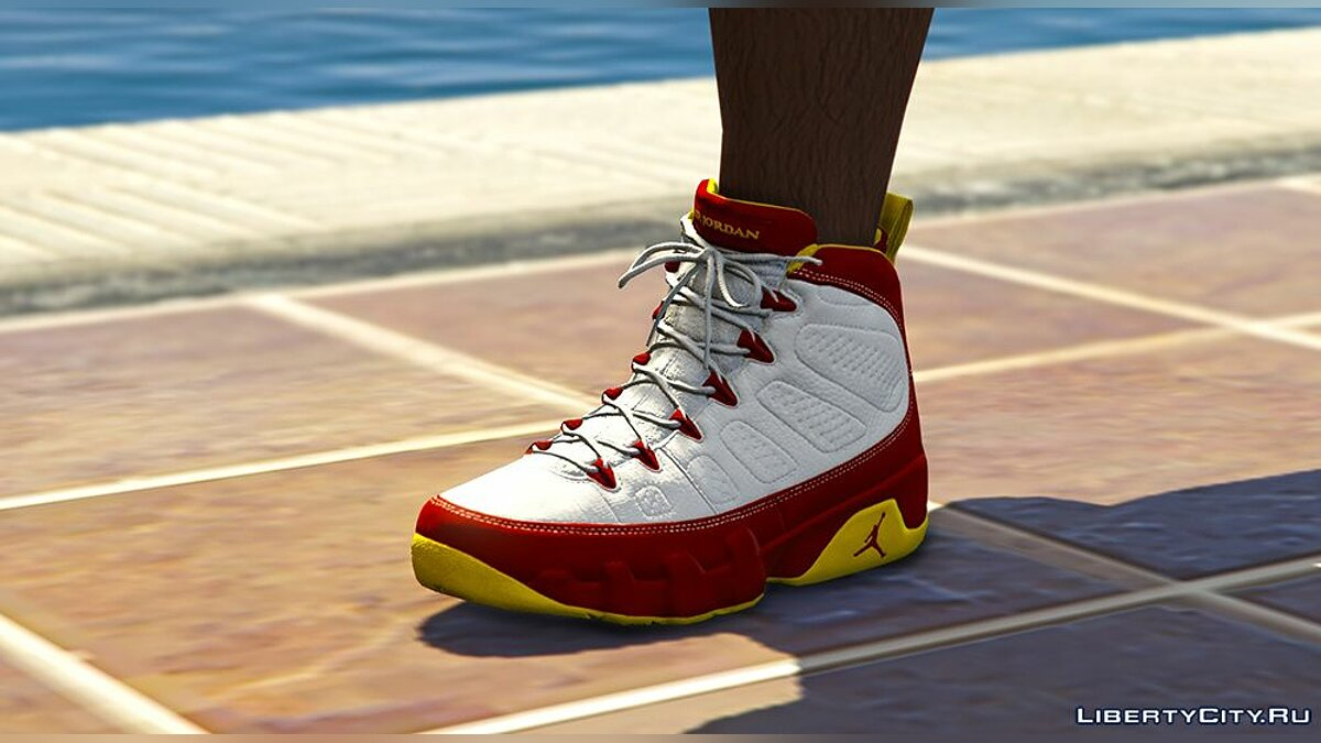 Boots Air Jordan 9 v1.0 for GTA 5