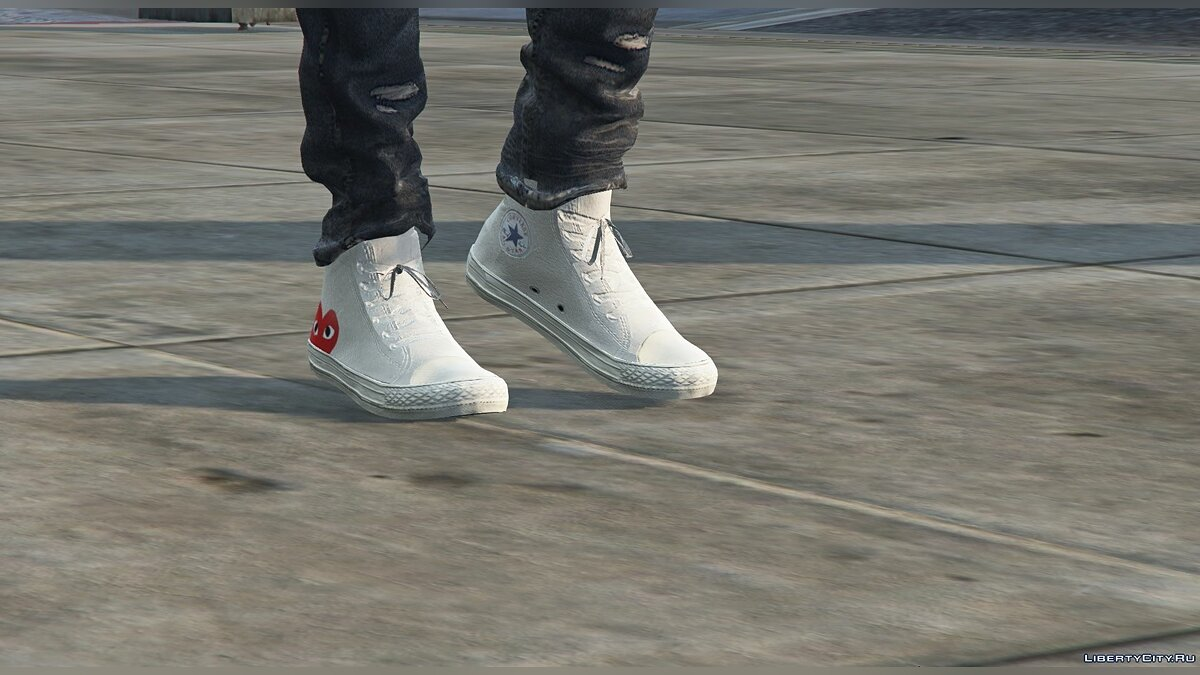 Boots Converse brand sneakers for GTA 5