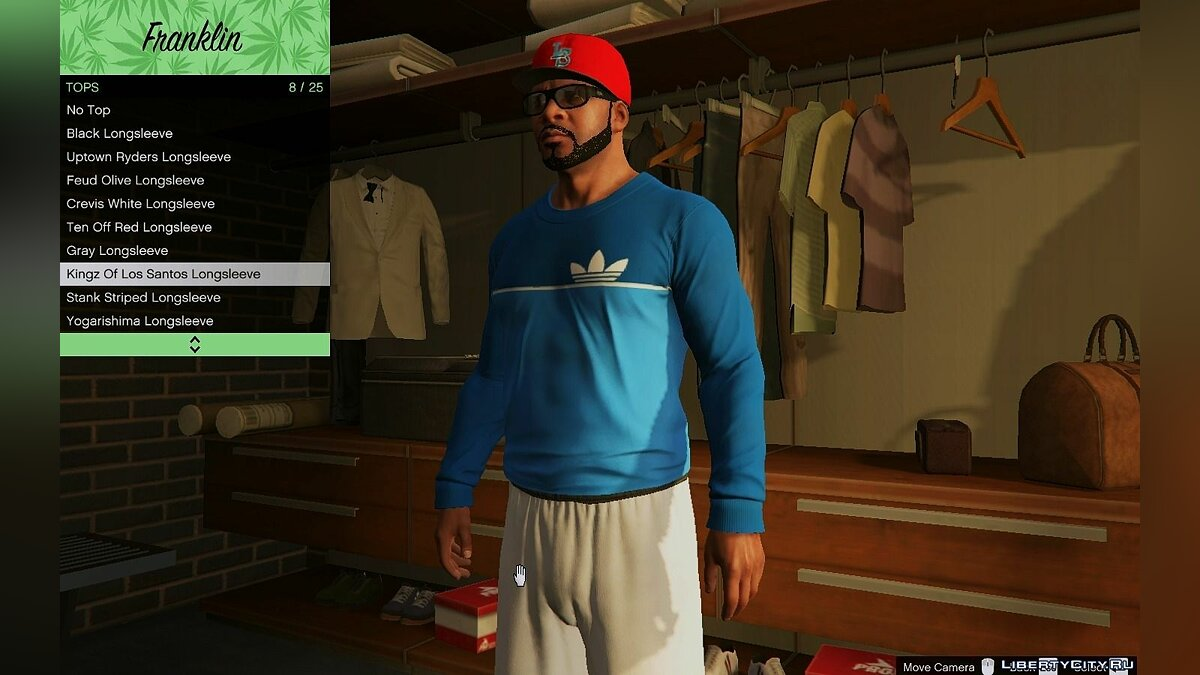 Boots Adidas Clothes Pack for GTA 5