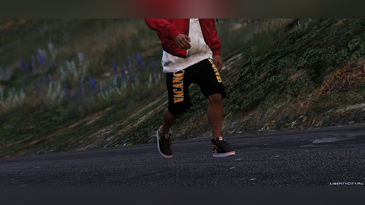 Boots THRASHER X VANS SK8 HI (ADD-ON / REPLACE) for GTA 5