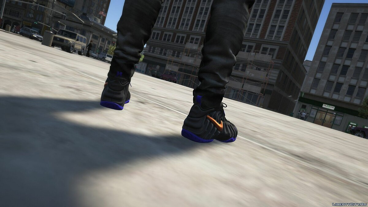 Boots Knicks Foamposite Pro Sneakers and Knicks Hoodies for GTA 5