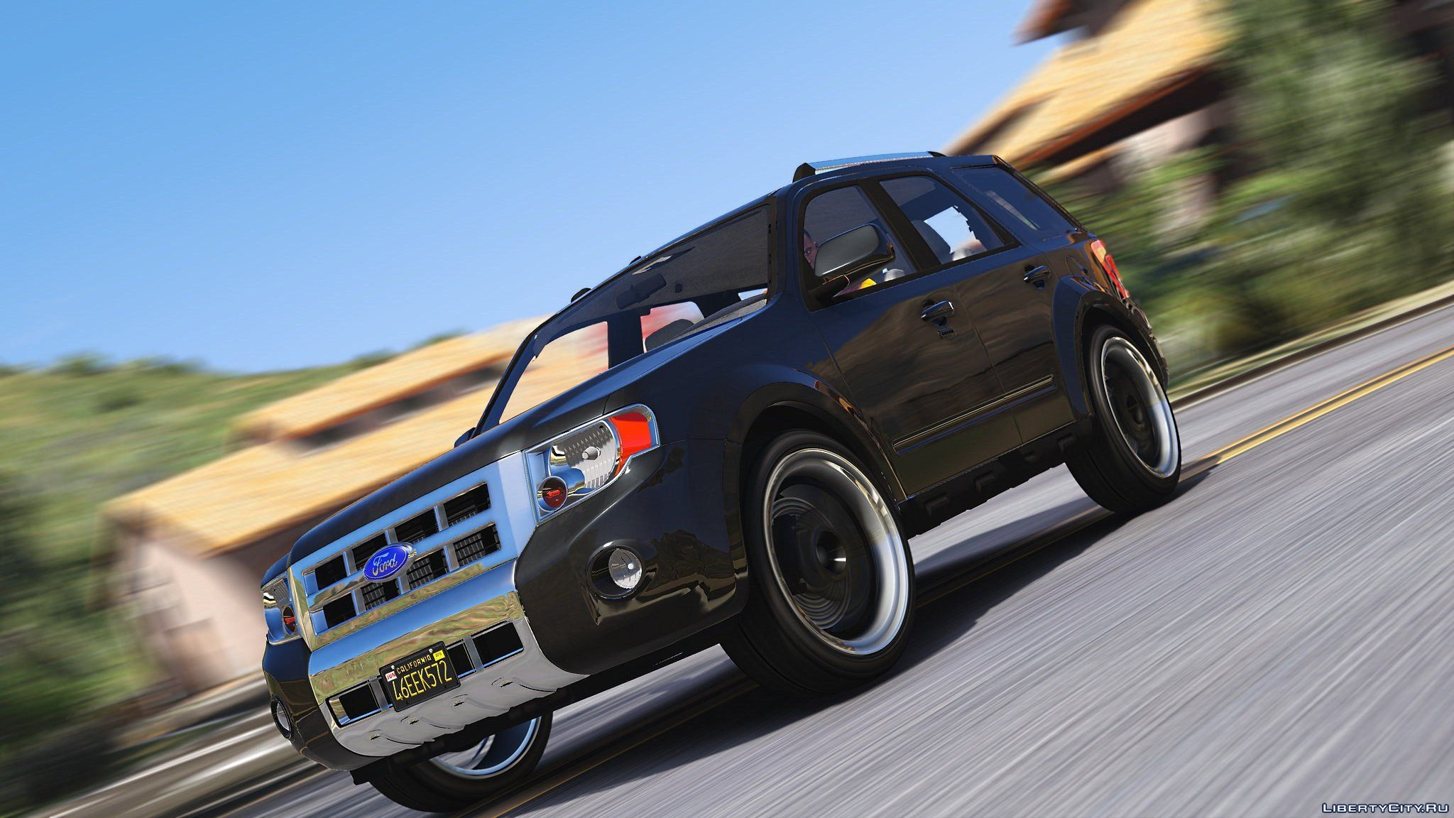 Ford Escape 2012 Add On Replace Tuning Wipers Hq 1 3 For Gta 5