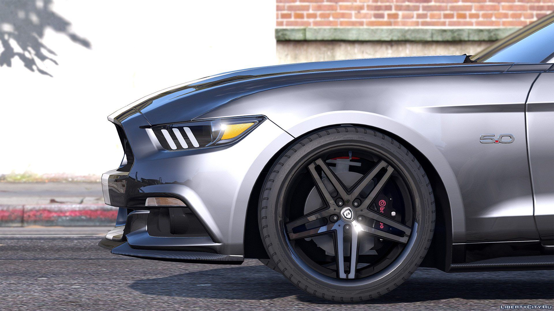 ford mustang gt 2015  add on   replace   animated 2015 mustang gt a/c compressor