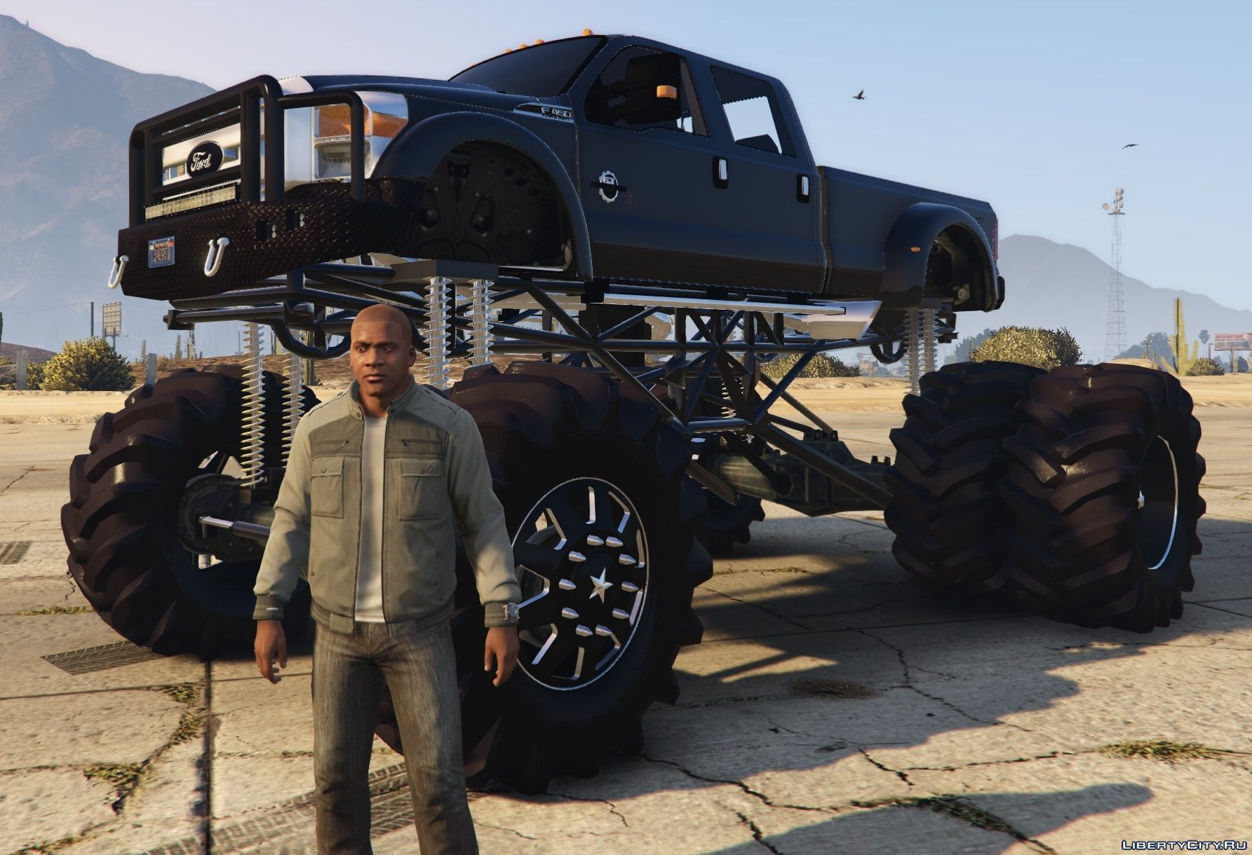 ford   mega mud truck  gta