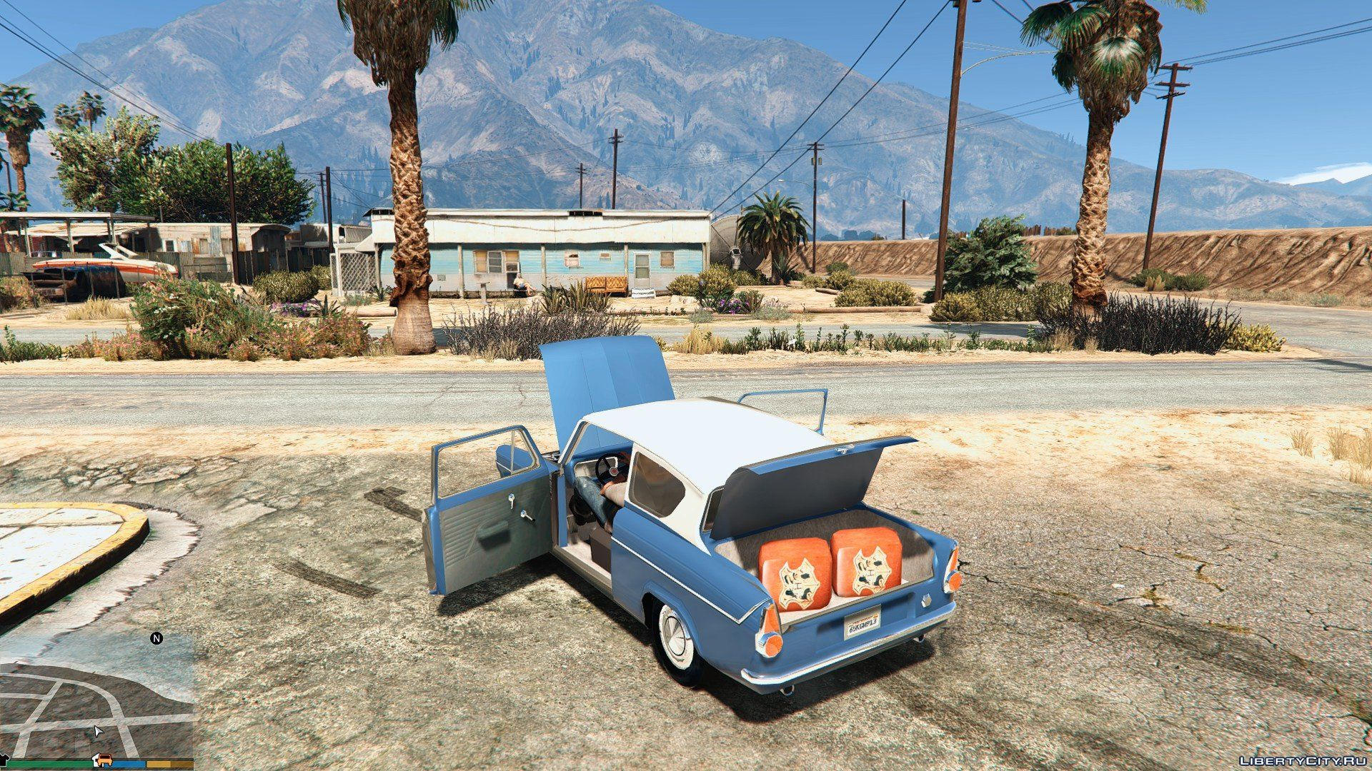 1959 Ford Anglia From Harry Potter For Gta 5