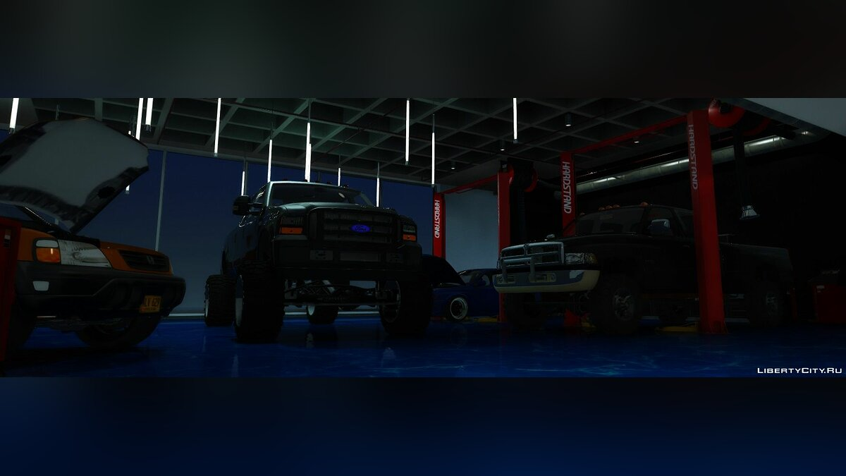 Ford car 2004 Ford F-250 Super Duty Lifted | REPLACE | FIVE-M | 1.0 for GTA 5