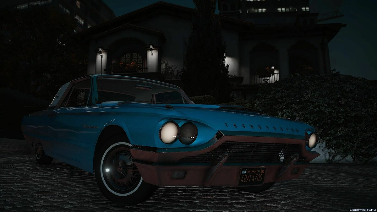 Ford car 1964 Ford Thunderbird [Add-On | LODs | Extras] 1.0 for GTA 5