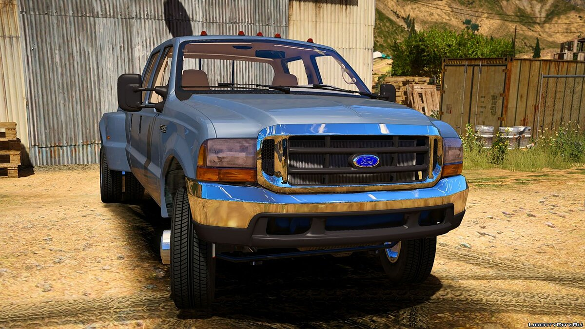 Ford car 2000 F350 Super Duty Dually [ADDON] 1.0 for GTA 5