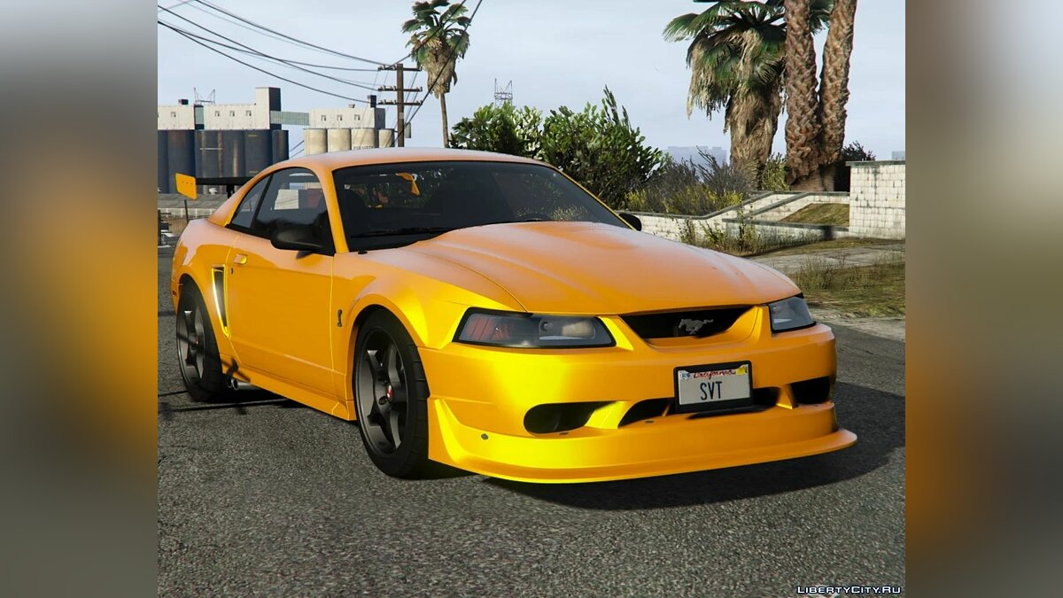 Ford car Ford Mustang SVT Cobra R 2000 [Add-On | Extras | Template] 1.0 for GTA 5