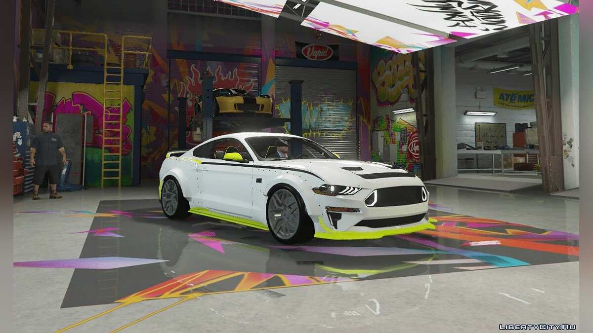 Ford car Ford Mustang RTR SPEC 5 2019 [Add-On / Replace | FiveM] for GTA 5
