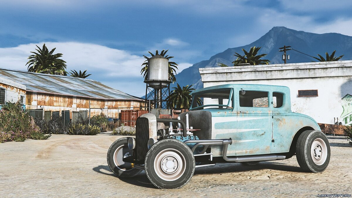 Ford car Ford Hot Rod 1930 [Add-On | LODs | Extras | Dirtmap | Template] for GTA 5