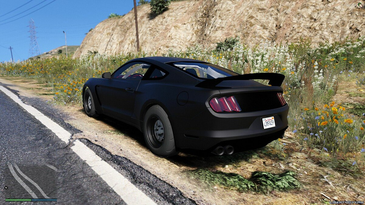 Ford car 2016 Ford Mustang GT350R 1.0 for GTA 5