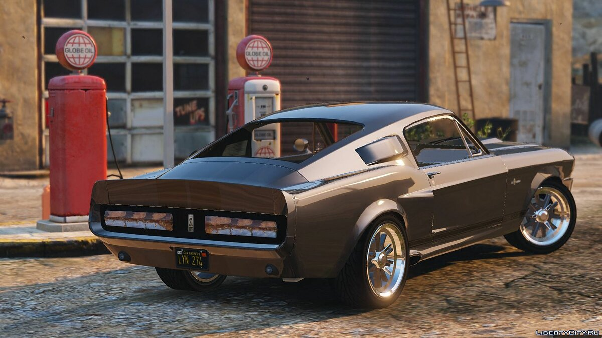 Shelby GT500 Eleanor [Add-On] V1.1 for GTA 5 - screenshot #2