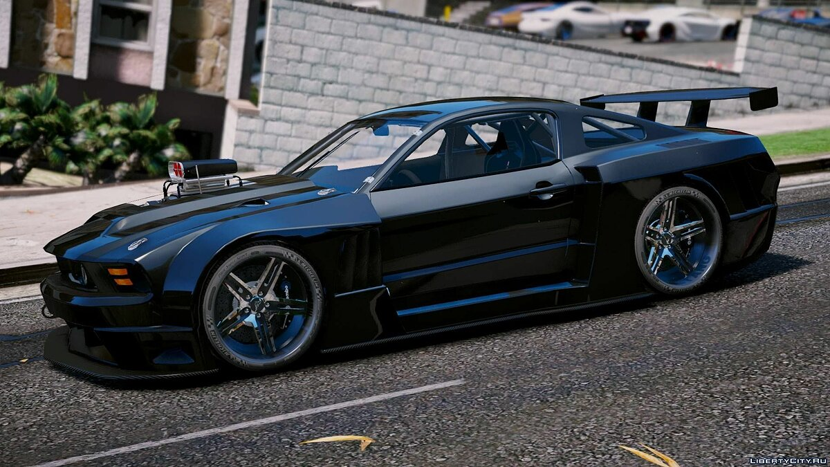 Ford car Ford Mustang GT Circuit Spec 2011 [Add-On / OIV] 1.1 for GTA 5