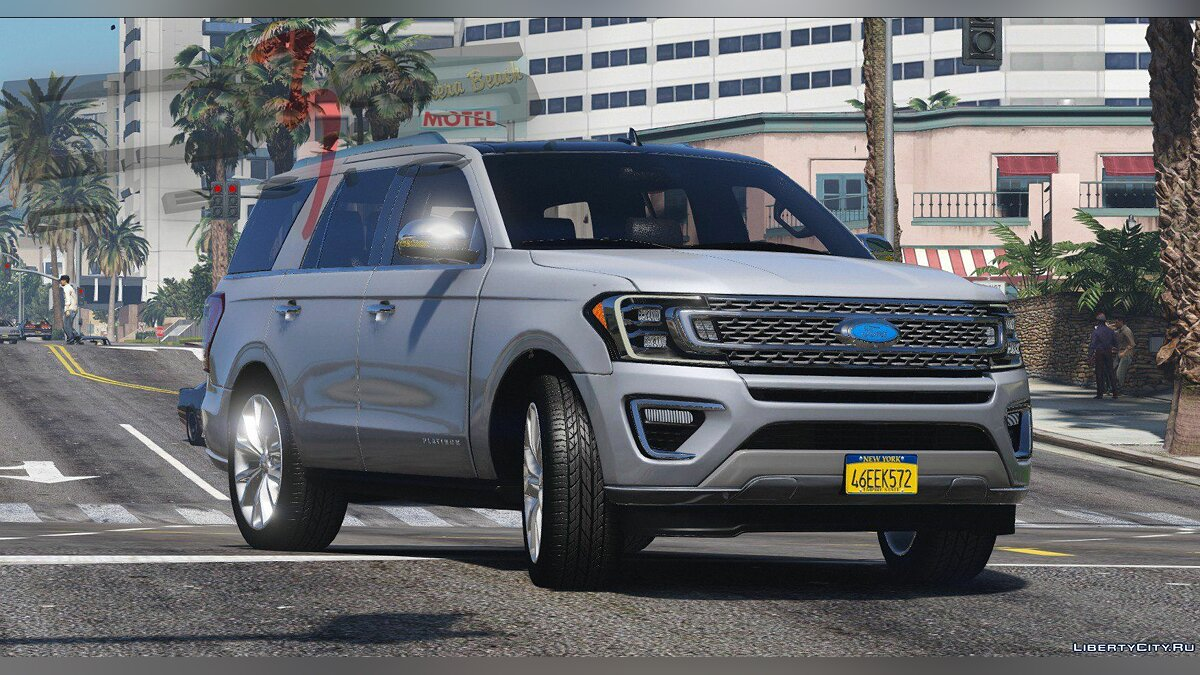 Ford car Ford Expedition (U554) '2017 [Add-On | AO | Template] 1.0.0808 for GTA 5
