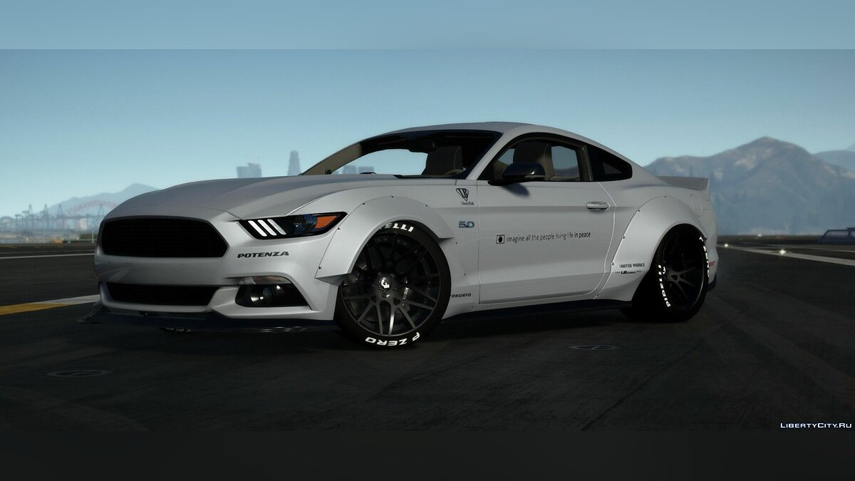 Ford car 2015 Ford Mustang GT LibertyWalk [Replace / Livery] for GTA 5