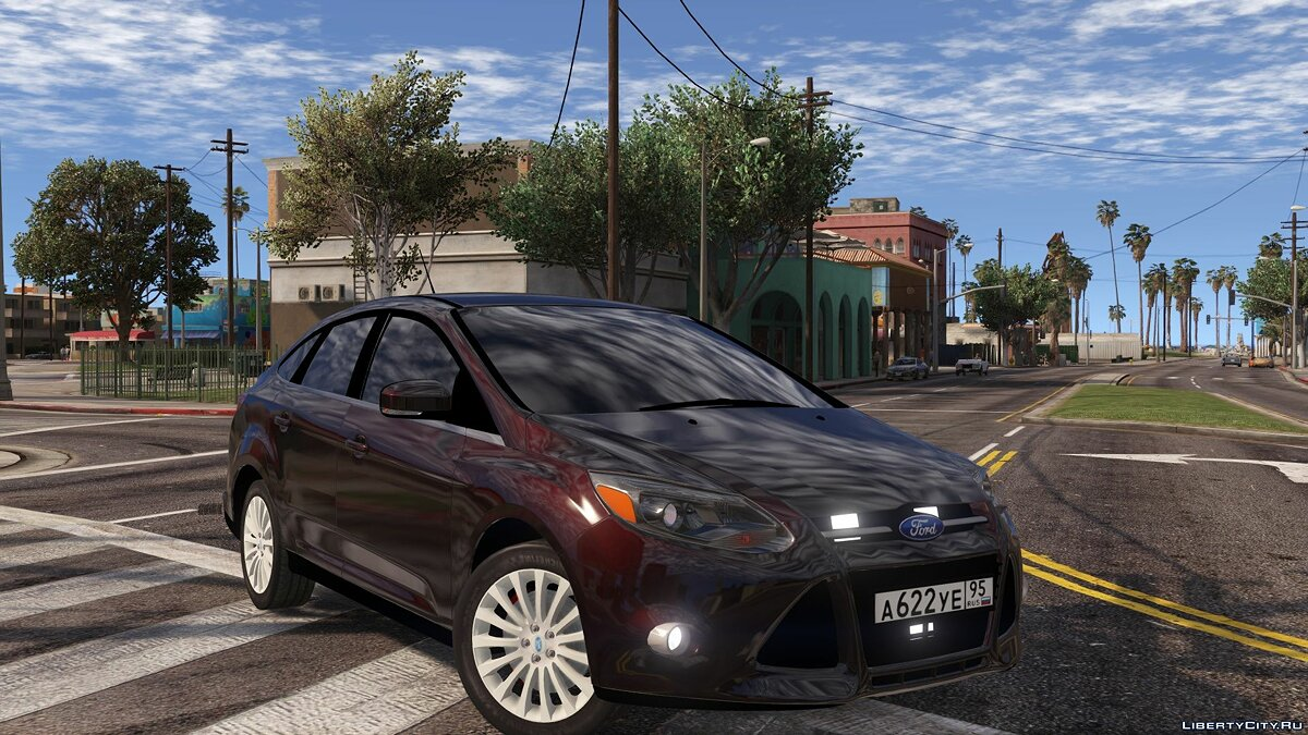 Ford car Ford focus for GTA 5