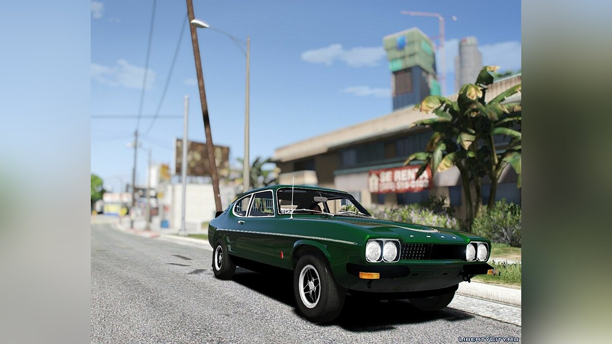 Ford car 1973 Ford Capri RS [Add-On] 1.0 for GTA 5