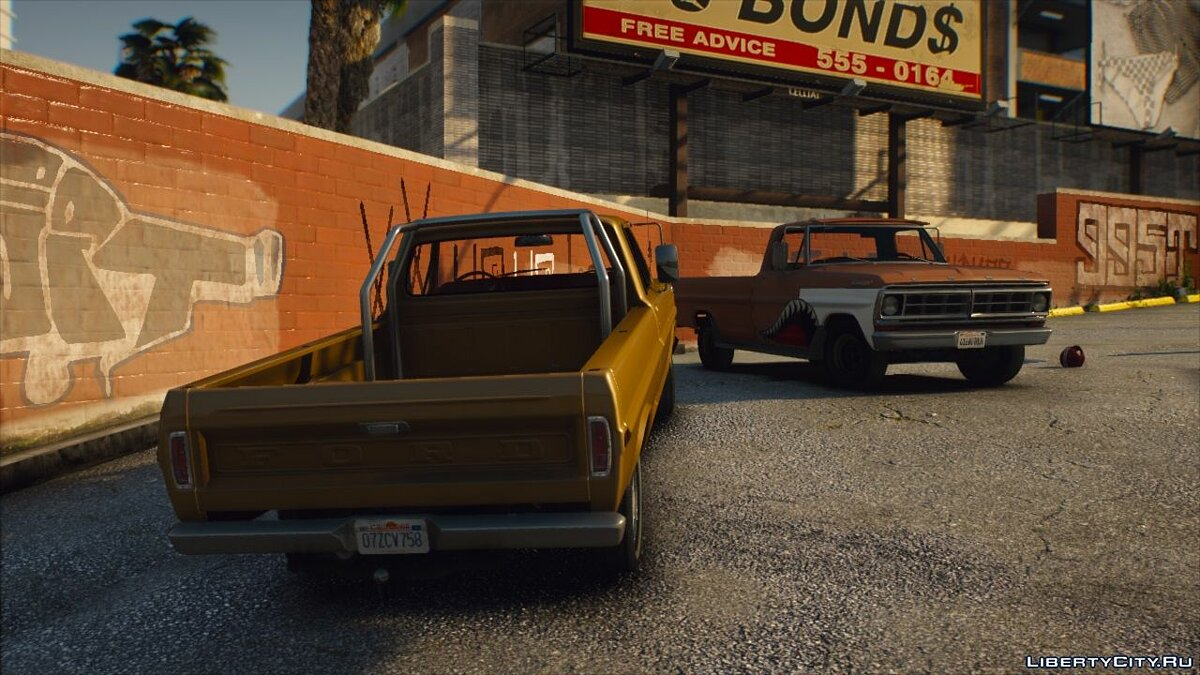 Ford car Ford F100 1970 [Add-On | Extras | Animated | Template] 1.0 for GTA 5