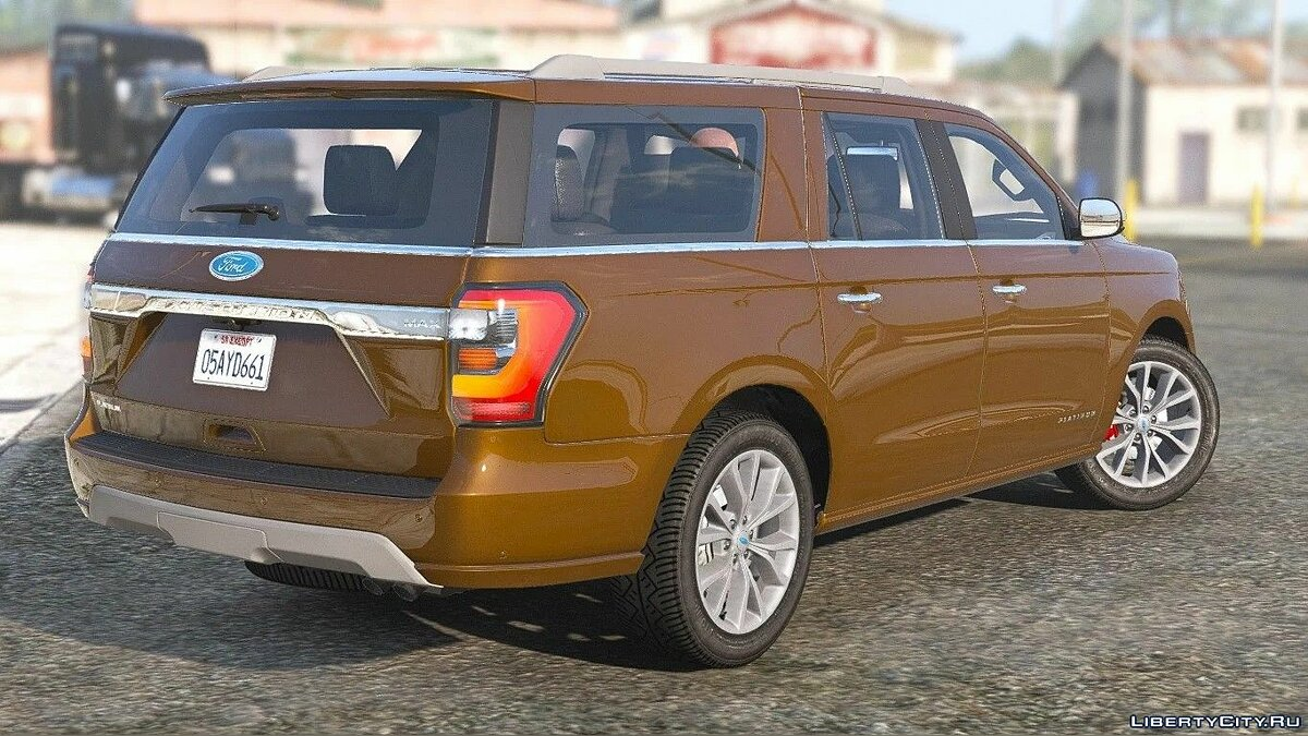 Ford car Ford Expedition 2020 Max [Add-On] 1.0 for GTA 5