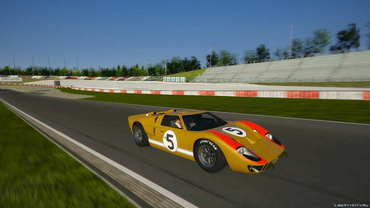 Ford car 1966 Ford GT40 MKII [Add-On | Template | Liveries] 1.0 for GTA 5