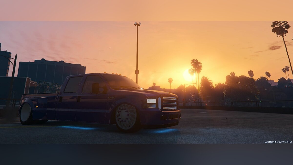 2000 Ford F350 Bagged [FIVEM + REPLACE] for GTA 5 - screenshot #3