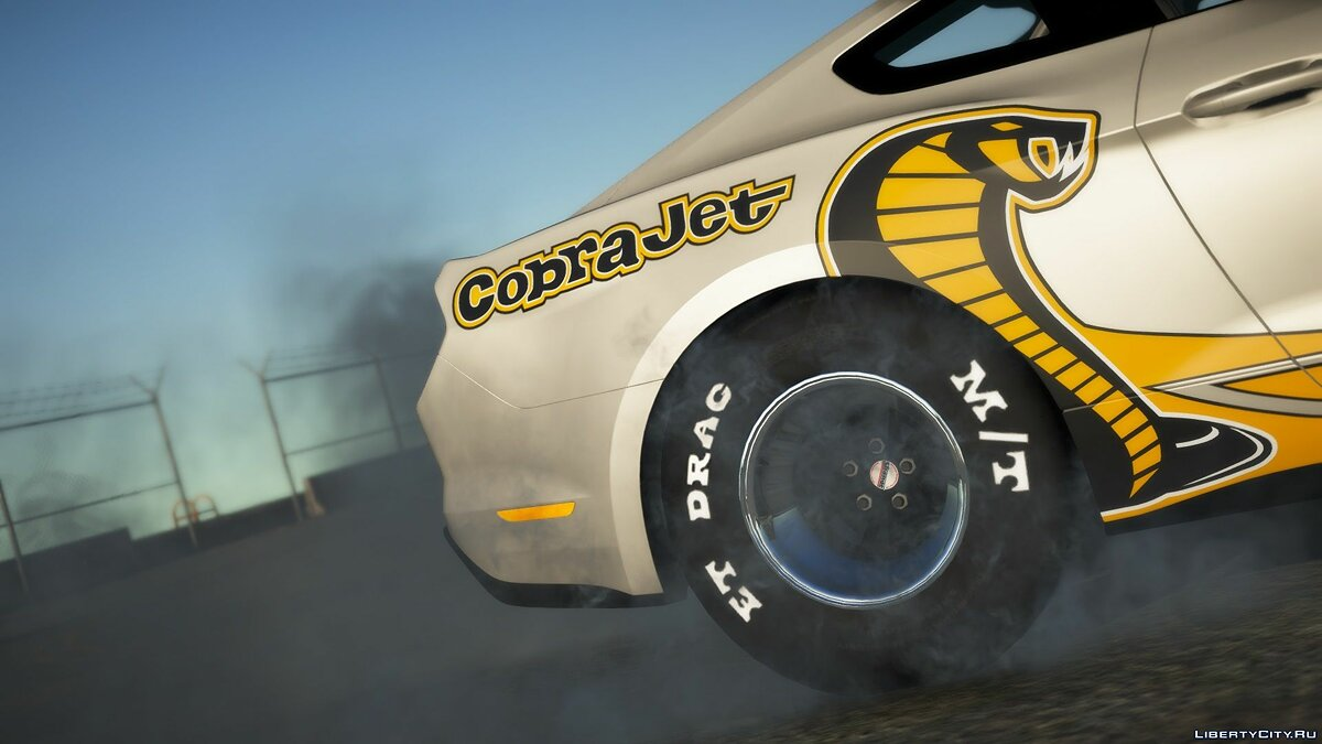 Ford car 2019 Ford Mustang CobraJet Drag [Add-On] [FiveM Ready] 1.0 for GTA 5
