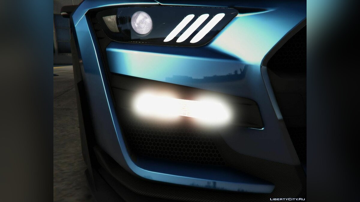 Ford car 2020 Ford Mustang Shelby GT500 [Add-On] 1.1 for GTA 5