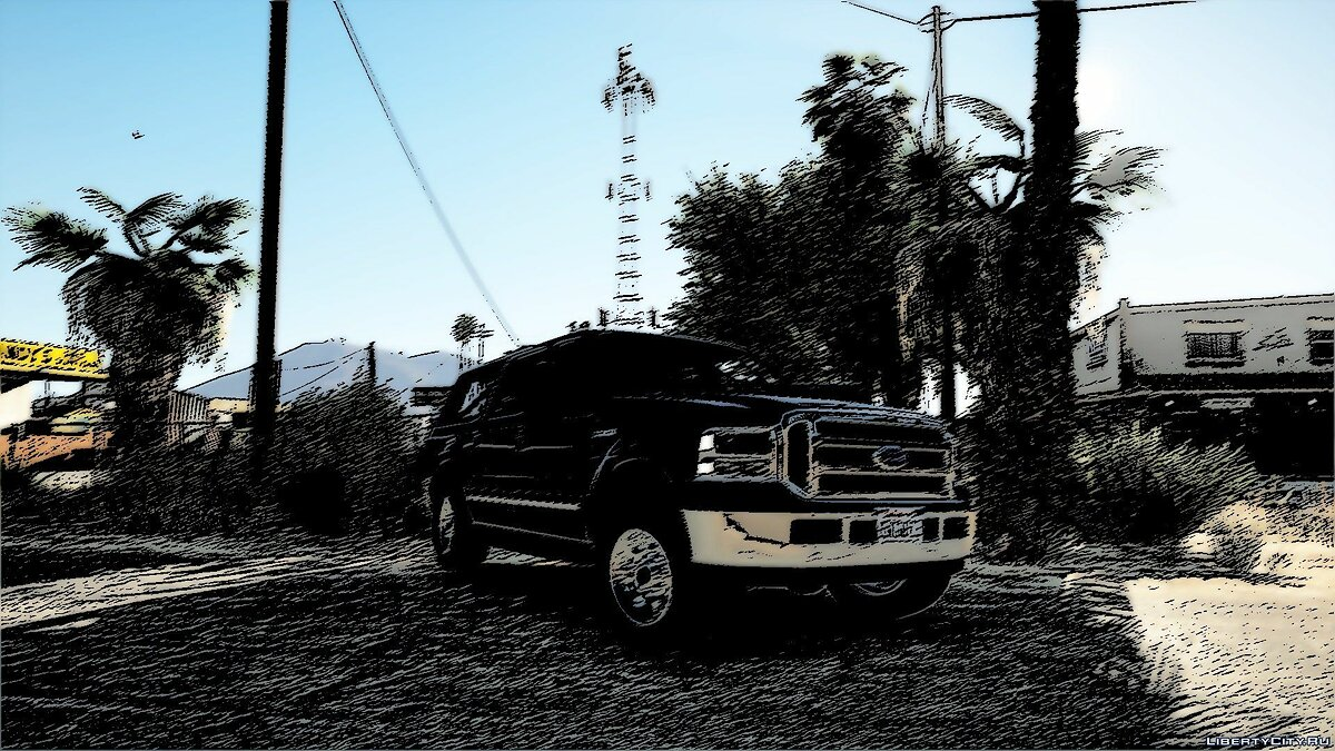 Ford car Ford Excursion XLT 2005 for GTA 5