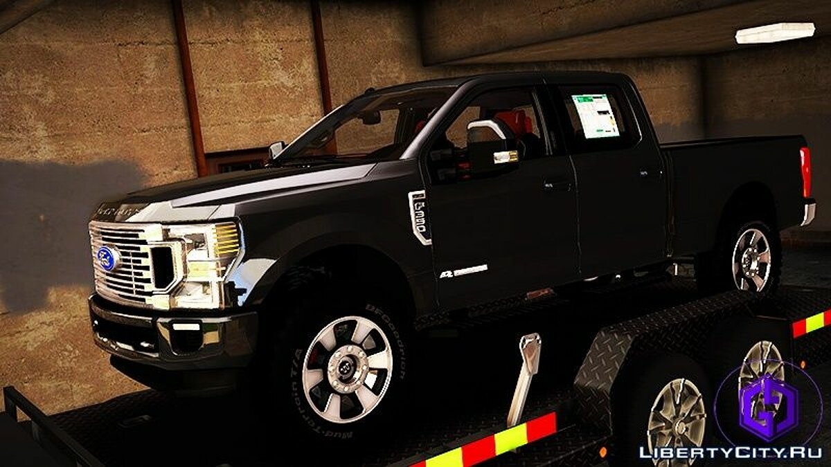 Ford car 2020 Ford F-350 King Ranch ADDON ONLY for GTA 5